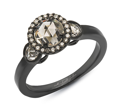 alternative engagement rings and wedding bands by michael john jewelry - Alternative Wedding Rings