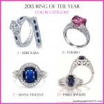 Cast Your Vote: Color Engagement Rings of the Year
