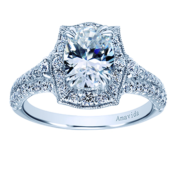 brand of amavida halo most gold white oval co voted preferred inspirational by pink engagement rings gabriel elegant bridal amp