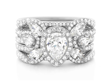 Stunning Personalized Ring Combination