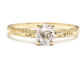 Vintage Diamonds for Unique Engagement Rings
