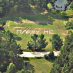 A Marriage Proposal from the Sky!