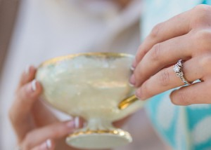 He Proposes to Her with His Mother's Diamond