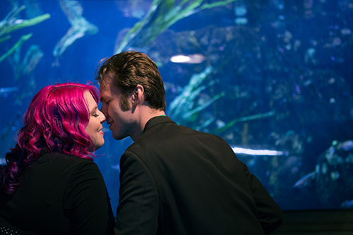 A Dreamy Aquarium Engagement Session
