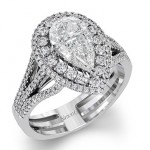 Brand New Marquise and Pear Shaped Diamond Rings by Simong G