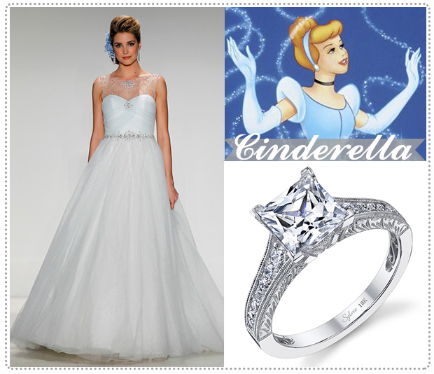 Disney Princesses and Their Stylish Happy Everafter - Engagement 101