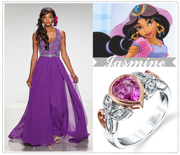 Disney Princesses And Their Stylish Happy Everafter