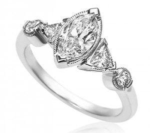 Fancy Diamond Shapes Engagement Rings
