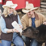 A Cute Engagement Session with Animals on a Farm