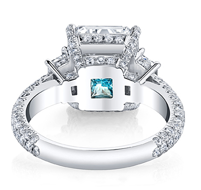 Personalize Your Engagement Ring with A Secret Touch of Color