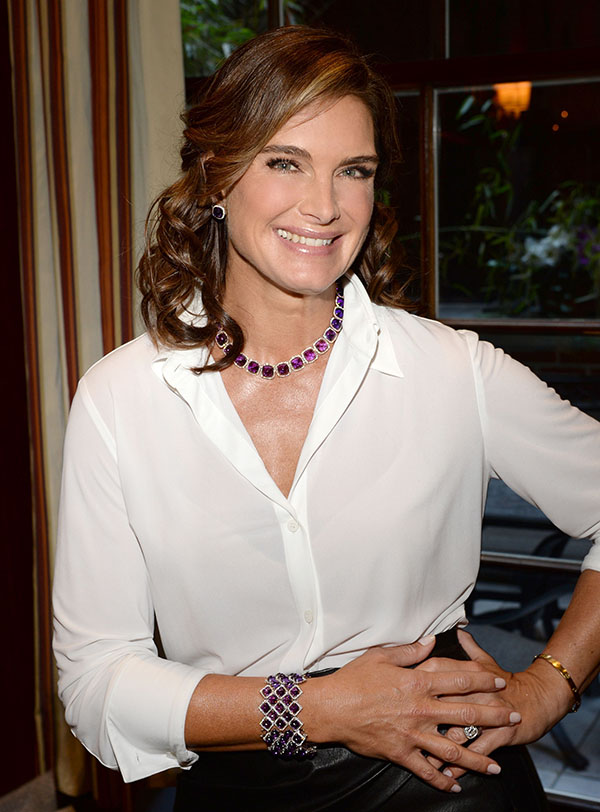 Brooke Shields and Robert Procop Team up for Good
