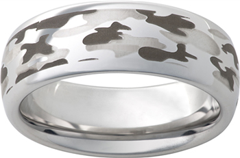 These Fun Wedding Bands Made Out Of Vitalium An Extremely Hard Metal That Never Tarnishes Or Change Color Comes At A Very Affordable Price Range