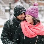 Let it Snow Engagement Session