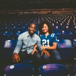 NFL Player Vontae Davis and His Love Megan's Gorgeous Engagement Session