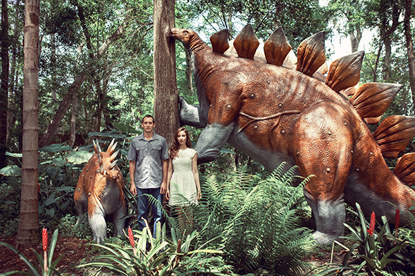 A Dinosaur World Engagement Session