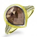 Feminine Raw Diamonds Engagement Rings by MaeVona