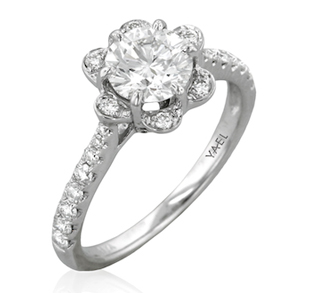 modern classic engagement rings for today 39 s bride to be. Black Bedroom Furniture Sets. Home Design Ideas