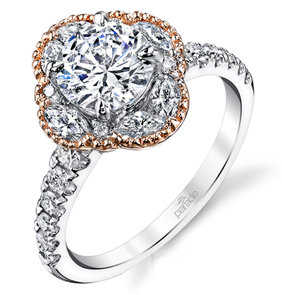 Flower Shaped Engagement Rings For Spring Engagement 101