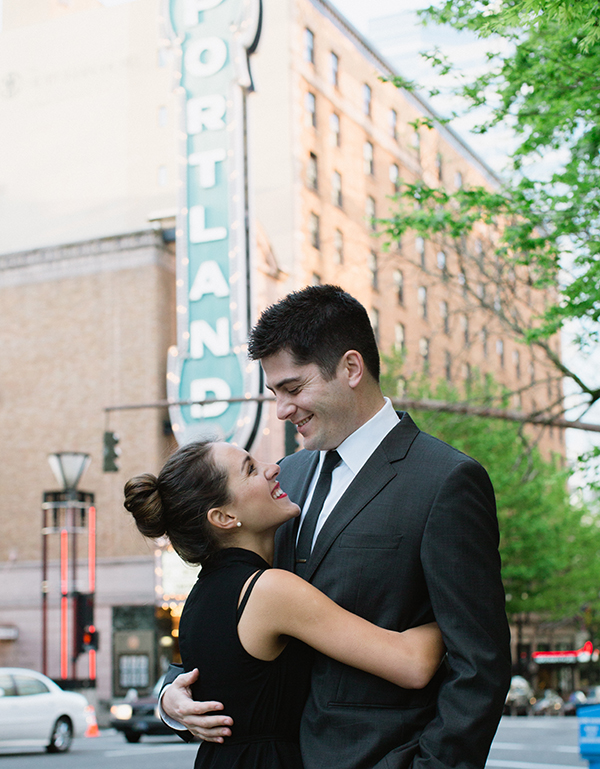 A Romantic Portland Engagement Session