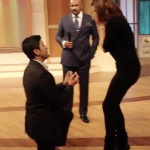Surprise Proposal on Steve Harvey Set