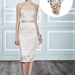 Crop-Top, the Alternative Wedding Dresses Trend of the Season