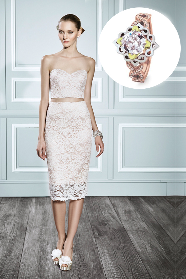 Crop-Top, the Alternative Wedding Dresses Trend of the Season ...