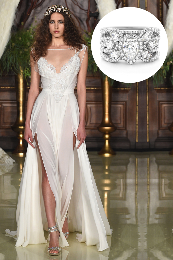 Sexy V-Neck Wedding Dresses are the Hottest New Trend this Bridal ...