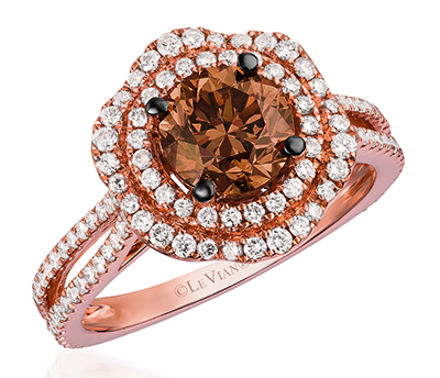 Le Vian chocolate engagement ring 4  Engagement 101