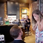 Starbucks Lovers Proposal