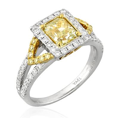 Yellow Diamond Engagement Rings by Yael Designs