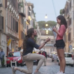 Tribute to Girlfriend's Late Father with Amazing Proposal