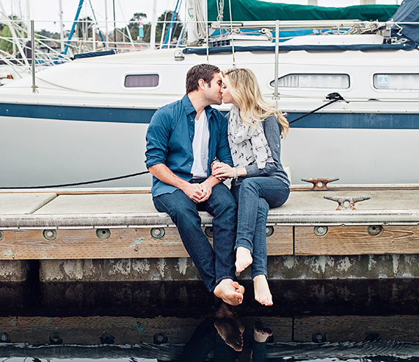 A Nautical Engagement Session