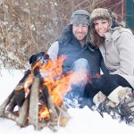 A Winter Adventure Engagement Session