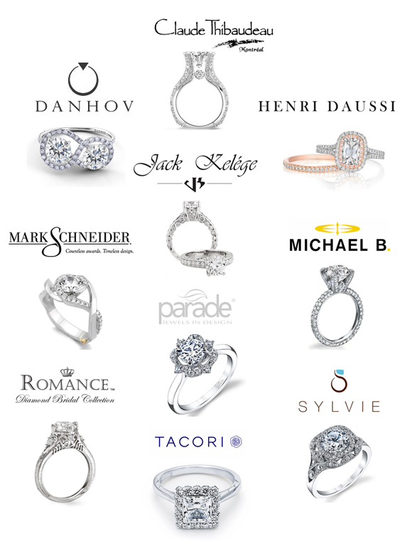 Modern wedding rings newlyweds: The best engagement rings brands
