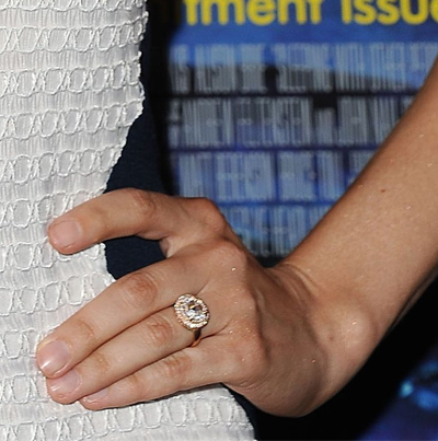 The Best Celebrity Engagement Rings 2015