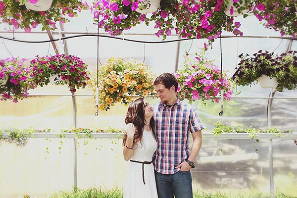 Katie and jordan spring proposal