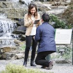 Magical Spring Proposal in the New York Botanical Garden