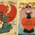 5 Romantic Vintage Leap Year Postcards