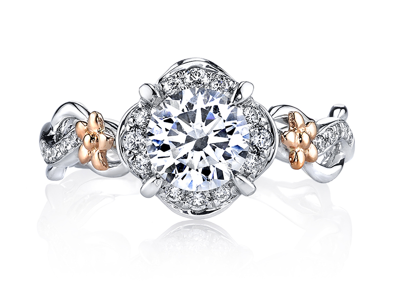 Alternative Rose Gold Engagement Rings