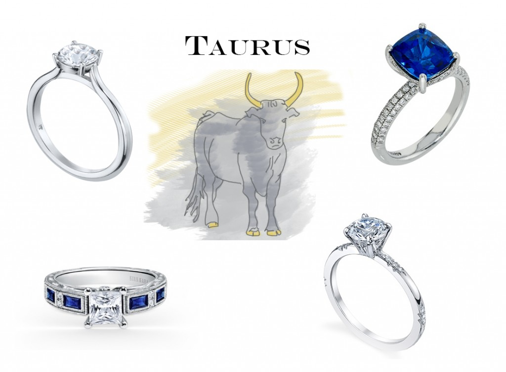 Taurus Engagement Rings
