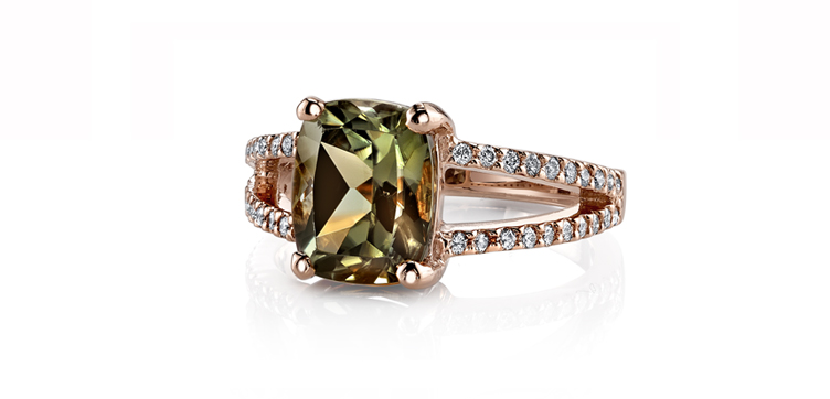 Csarite engagement rings gemini