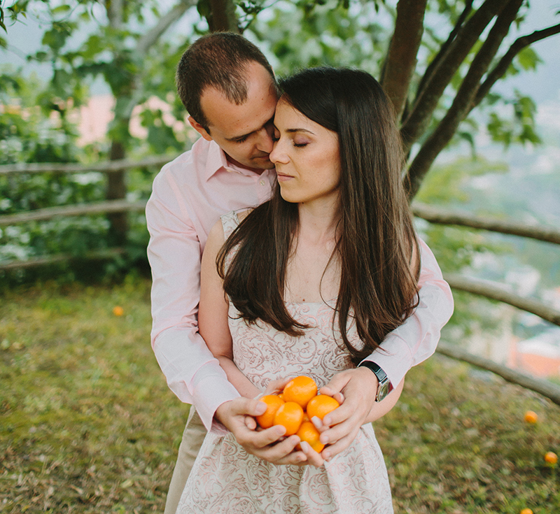 Summer Love in Italy - Irina and Ionut