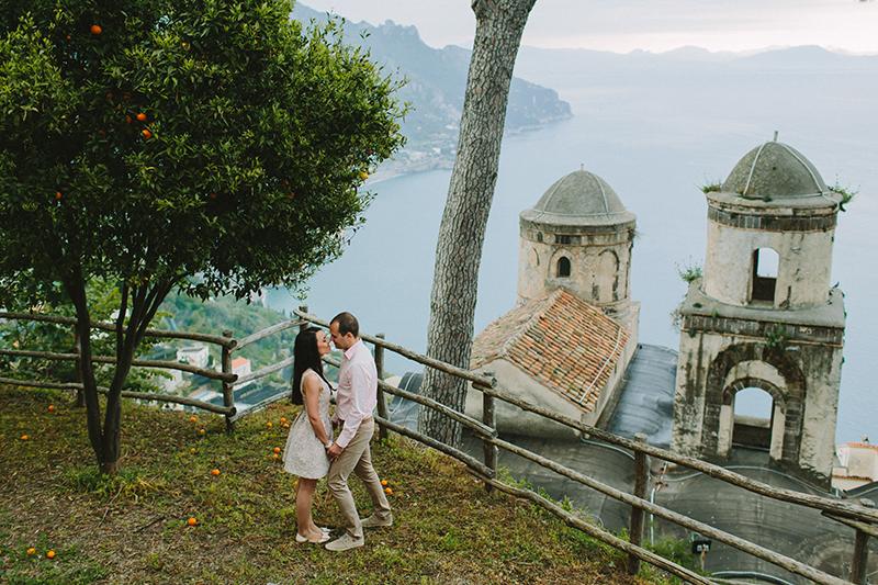 Irina and Ionut summer engagement session love amalfi love