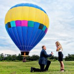 Trish and Corey, a Romantic Air Balloon Proposal