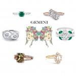 Gemini Engagement Rings