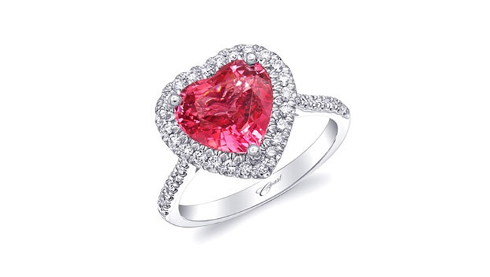heart diamond engagement ring - coast diamond