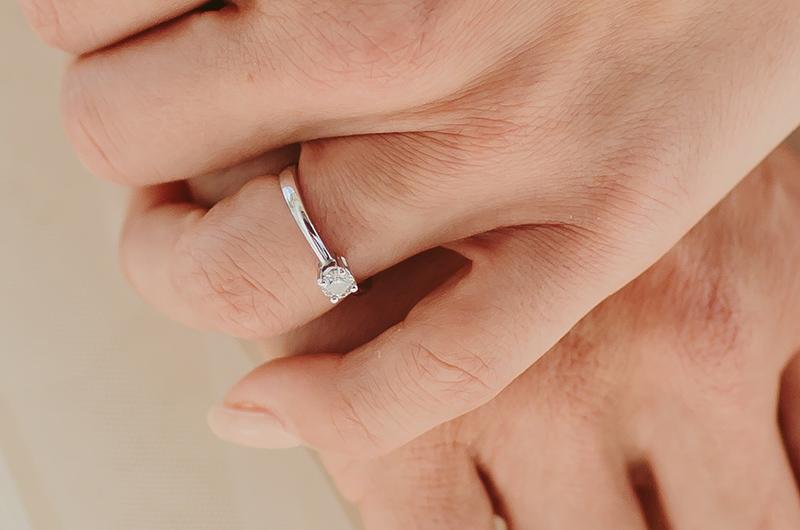 irina and inout engagement ring