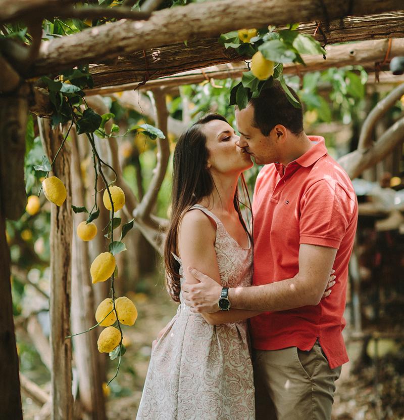 love Irina and Ionut summer engagement session amalfi