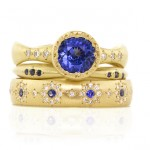 Not Your Lady Di Sapphire Engagement Ring