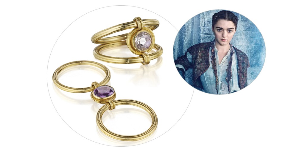 arya stark engagement ring game of thrones